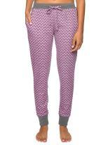 Noble Mount Thermal Pajama Pants for Women - Jogger Style Womens Pajama Pants