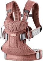BABYBJÖRN New Baby Carrier One Air 2019 Edition, Mesh, Vintage Rose