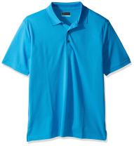 PGA TOUR Men's Short Sleeve Tonal Stripe Polo