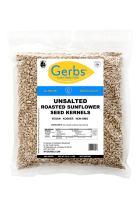 Gerbs Unsalted Sunflower Seed Kernels – 2 LBS - Top 14 Food Allergy Free & NON GMO - Vegan, Keto Safe & Kosher - Dry Roasted Hulled Seeds Grown in USA