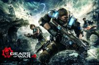 "Trends International Gears of War 4-Key Art Premium Wall Poster, 22.375"" x 34"""
