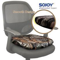 Sojoy iGelComfort Breathable Orthopedic Coccyx Gel Seat Cushion (Camouflage)