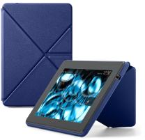 """Amazon Kindle Fire HD Standing Leather Origami Case (will only fit Kindle Fire HD 7""""), Blue"""