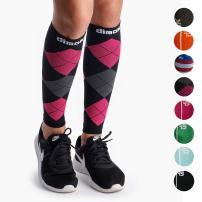 dimok Calf Compression Sleeves Pair - Leg Compression Socks for Calves Shin Splint Muscle Pain Running Women Men Kids Best Gift for Runners