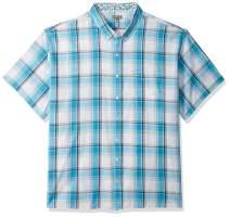 Van Heusen Men's Big and Tall Never Tuck Short Sleeve Button Down Shirt