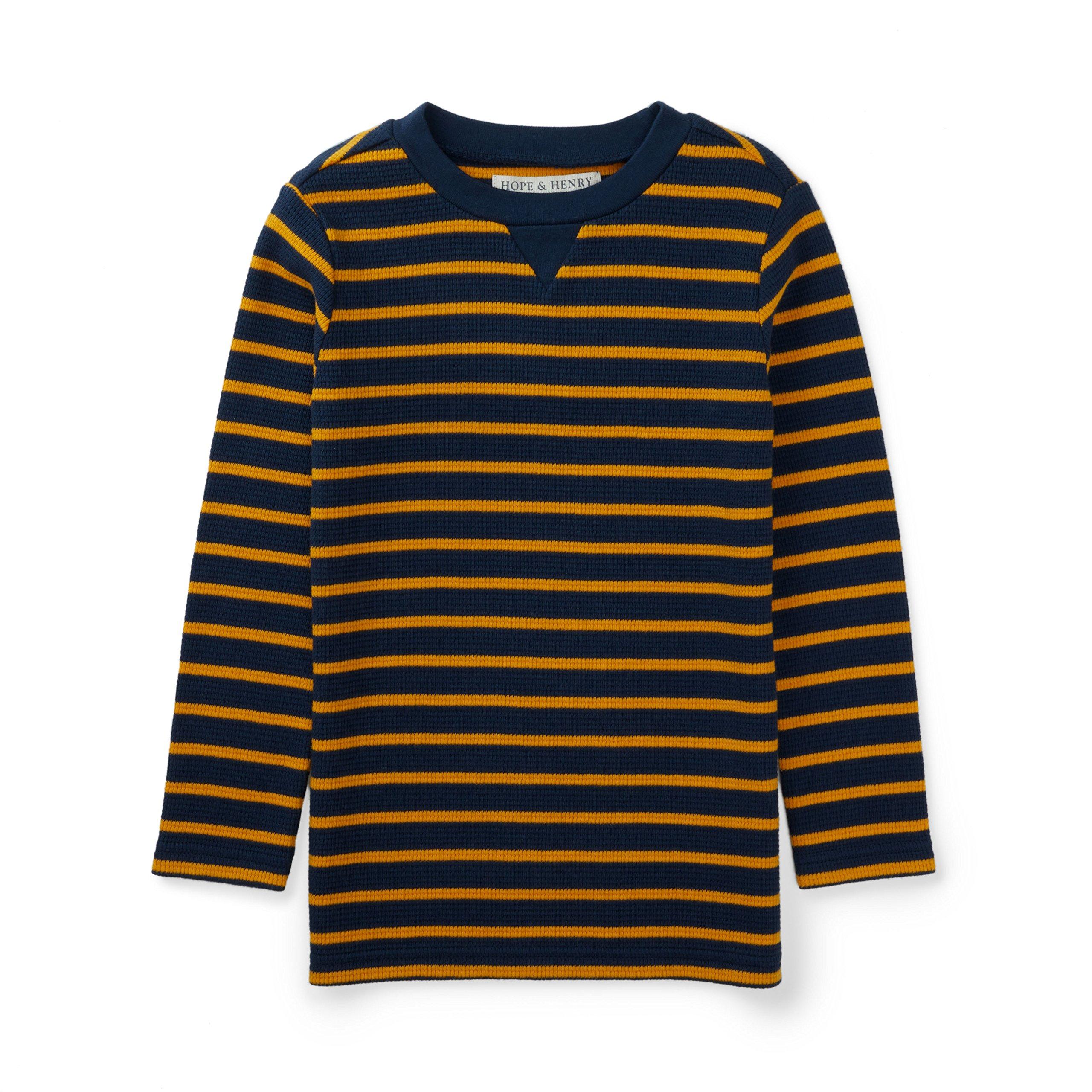Hope /& Henry Boys Long Sleeve Rugby Polo Shirt