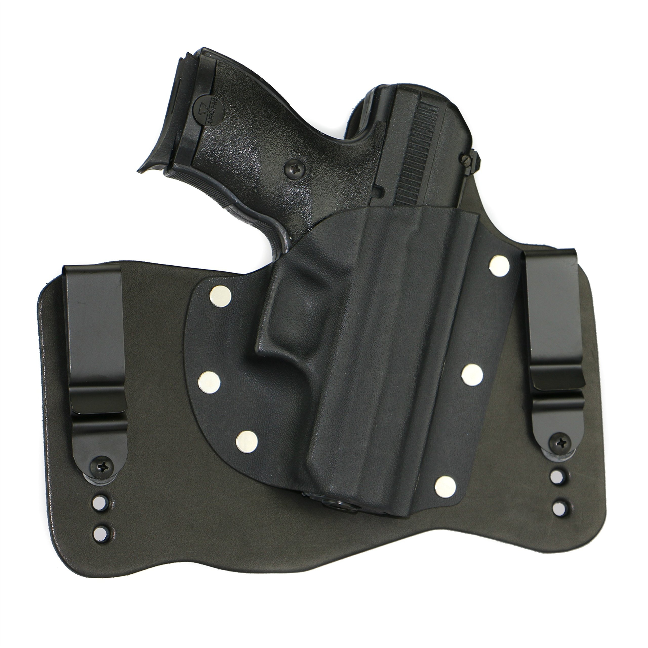FoxX Holsters Hi-Point C9 9mm IWB Hybrid Holster Tuckable, Concealed Carry Gun Holster