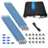 Upper Bounce Trampoline Safety Enclosure Set of Net, Poles & Hardware