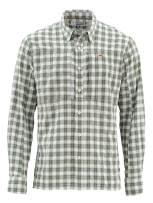 Simms Bugstopper 30 UPF Plaid Shirt - Bug Repellent & Sun Protection Long Sleeve Fishing Shirt – Quick Dry & Moisture Wicking
