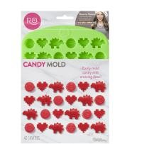 ROSANNA PANSINO by Wilton Nerdy Nummies Silicone Candy Mold, 42-Cavity