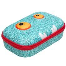 ZIPIT Beast Pencil Box/Storage Box, Blue