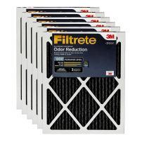 Filtrete MPR 1200 14x20x1 AC Furnace Air Filter, Allergen Defense Odor Reduction, 6-Pack