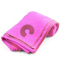 Microfiber Yoga Towel - Improves Your Grip and Protects Your Mat