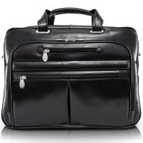 "McKlein USA Rockford 15.6"" Leather Laptop Briefcase"