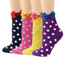 LIVEBEAR 4/5 Pack Womens Thick Soft Warm Comfort Winter Socks Made in Korea
