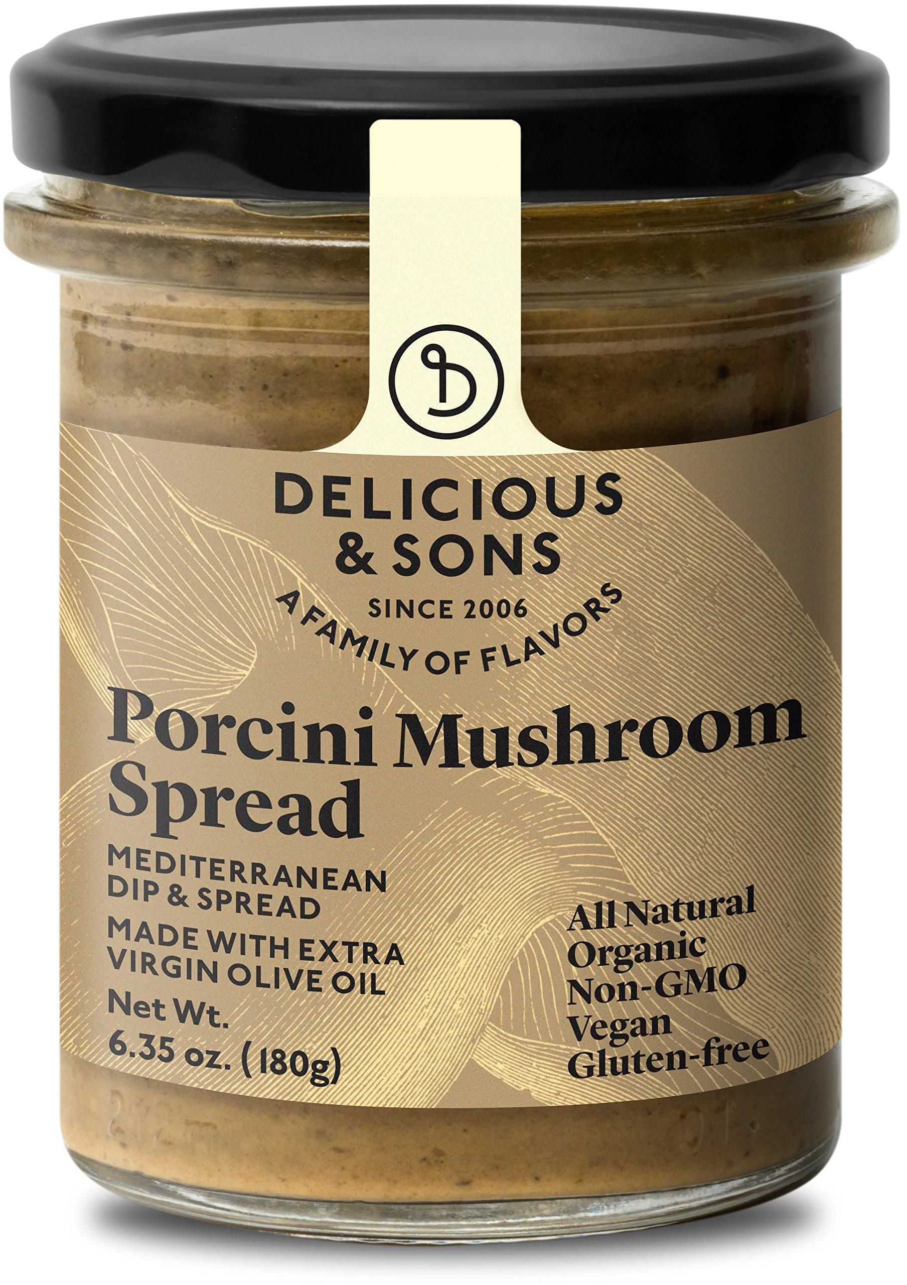 Delicious & Sons Organic Porcini Mushroom Spread 6.35 oz.…