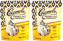 Cocomels Coconut Milk Caramels - Organic, Kosher, NON-GMO, Vegan - Made Without Dairy - Original and Sea Salt - 2 Pack