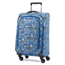 Atlantic Luggage Atlantic Ultra Lite Softsides Carry-on Exp. Spinner, watercolor blue