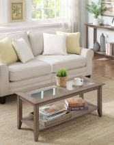 Convenience Concepts Carmel Coffee Table, Driftwood