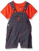 U.S. Polo Assn. Baby Boys' T-Shirt and Short Set