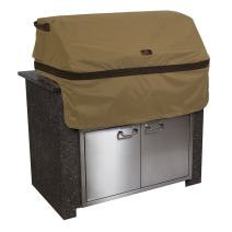 Classic Accessories Hickory Water-Resistant 32 Inch Built-In BBQ Grill Top Cover