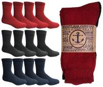 Yacht & Smith Thermal Boot Crew And Tube Socks, Unisex Bulk Cold Resistant Weather Socks