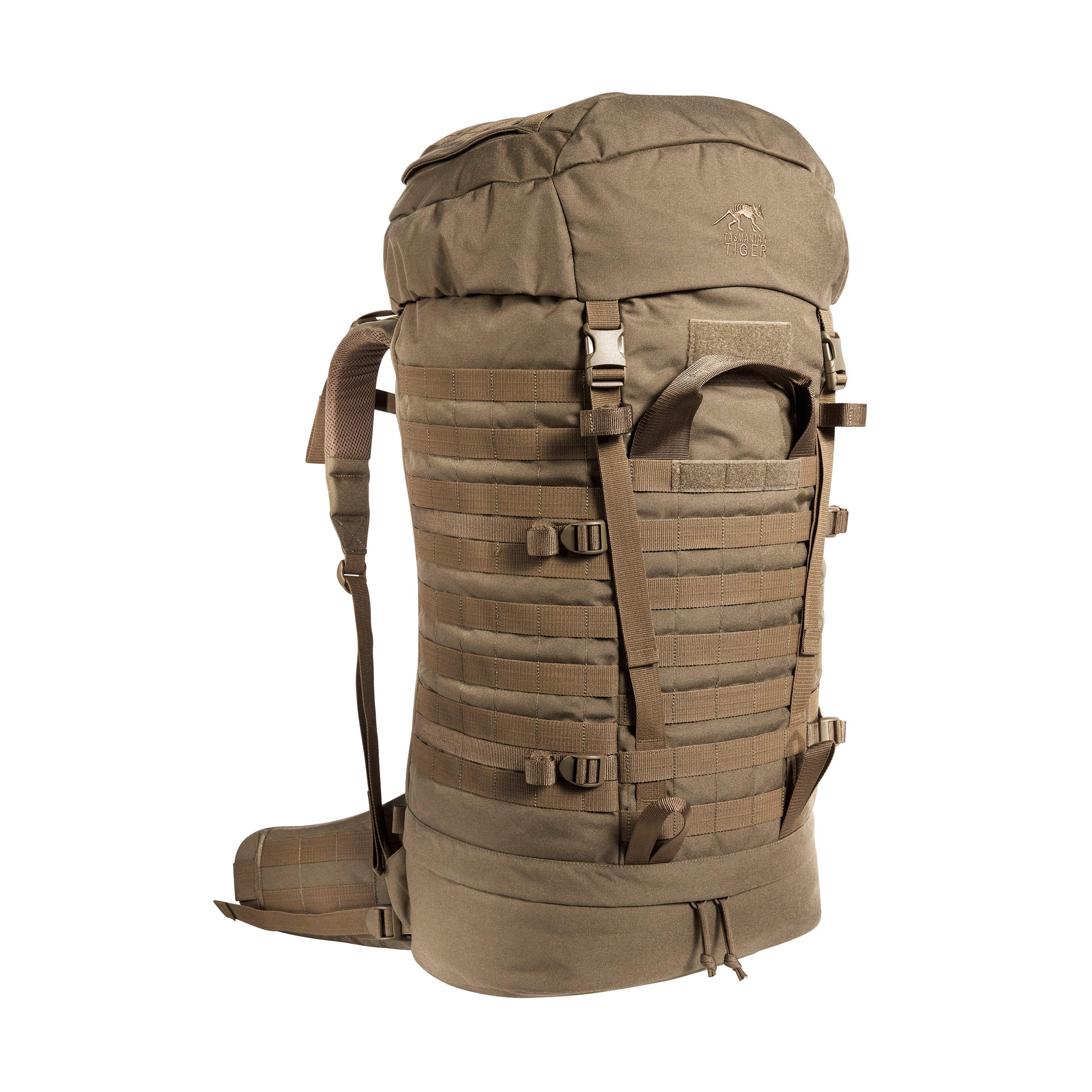 Tasmanian Tiger Field Pack Mk II, 75L Long Range Tactical Backpack with MOLLE System, YKK RC Zippers