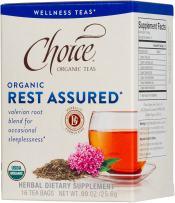 Choice Organic Teas Wellness Teas, 16 Tea Bags, Rest Assured