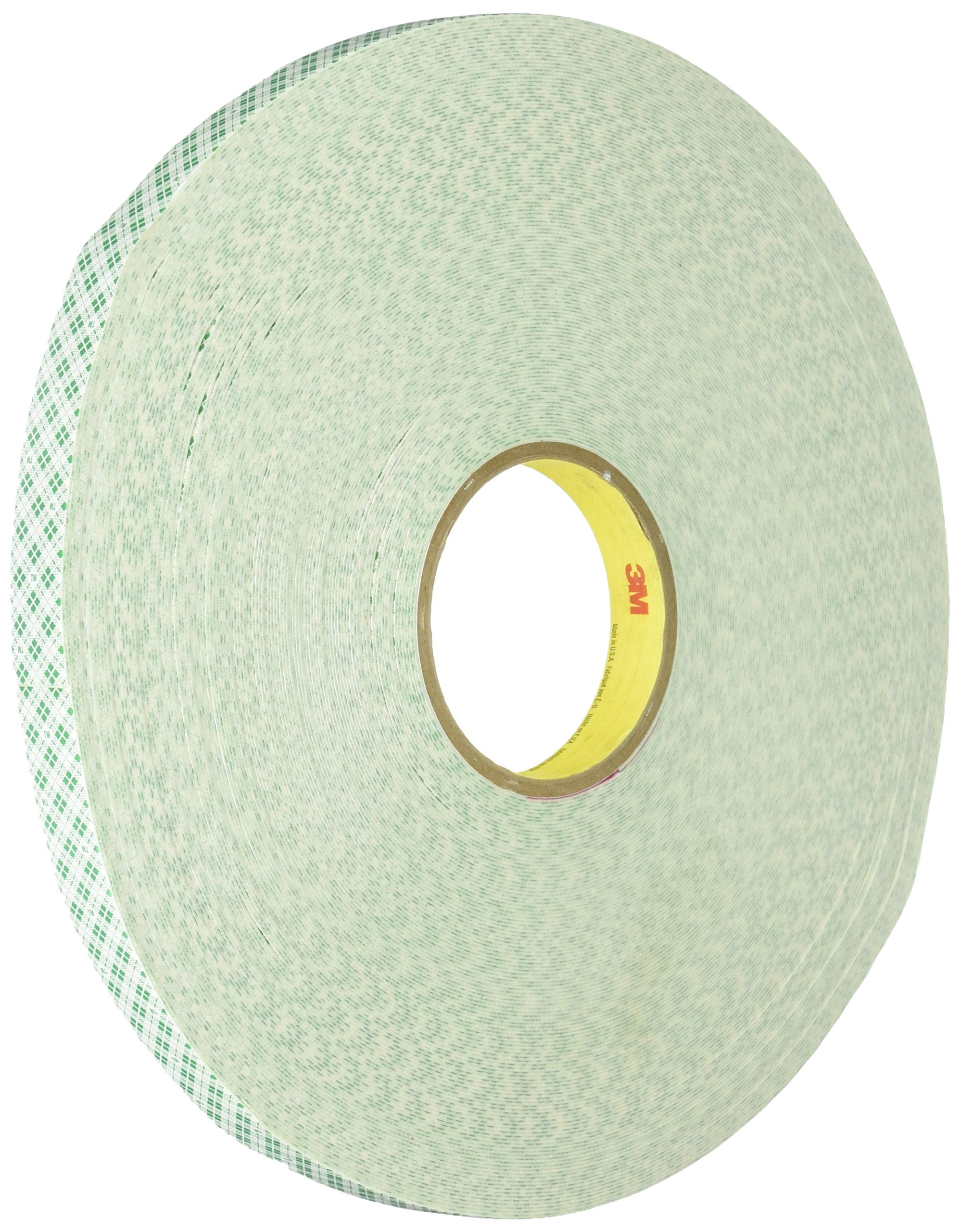 3M 4032 Double Coated Urethane Foam Tape - 0.125 in x  5 yd (15 ft) Tape Roll for Permanent Bonding. Sealing Tapes (1 Roll)