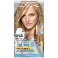L'Oréal Paris Feria Multi-Faceted Shimmering Permanent Hair Color, C100 Star Lights Extreme (Highlighting Kit), 1 kit Hair Dye