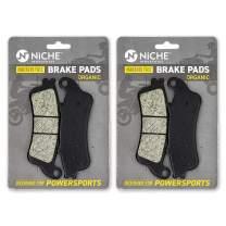 NICHE Brake Pad Set for Honda Goldwing F6B 1800 06435-MCA-026 Rear Organic 2 Pack