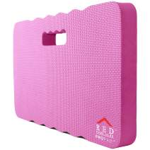 Thick Kneeling Pad, Garden Kneeler for Gardening, Bath Kneeler for Baby Bath, Kneeling Mat for Exercise & Yoga, Knee Pad for Work, Floor Foam Pad, Extra Large (XL) 18 x 11 x 1.5 Inches, Pink