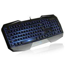 AULA Catalyst Gaming Keyboard, Ergonomic Keyboard Multimedia keys, Swappable Gaming Keys, Computer Keyboard