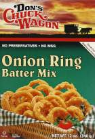 Don's Chuck Wagon Onion Ring Mix, 12 Ounce (Pack of 12)