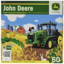 MasterPieces John Deere Hay Harvest Jigsaw Puzzle, 60-Piece