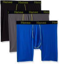Hanes Men's Comfort Flex Fit Lightweight Mesh Boxer Brief 3-Pack