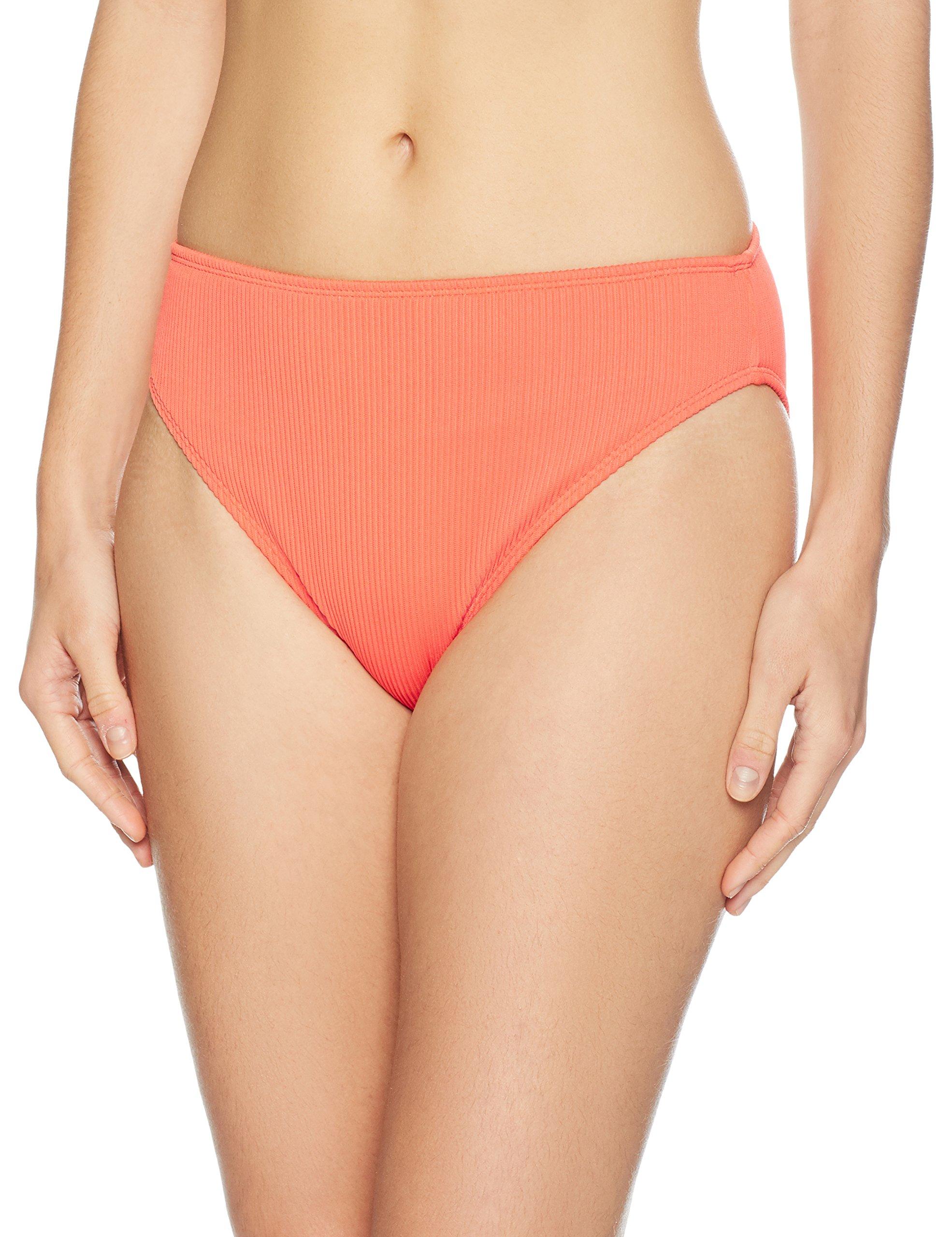 Amazon Brand - Mae Women's Swimwear Ribbed Bikini Bottom (for A-C cups)