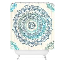 "Deny Designs Rosebudstudio Mandala Shower Curtain,  69"" x 72"""