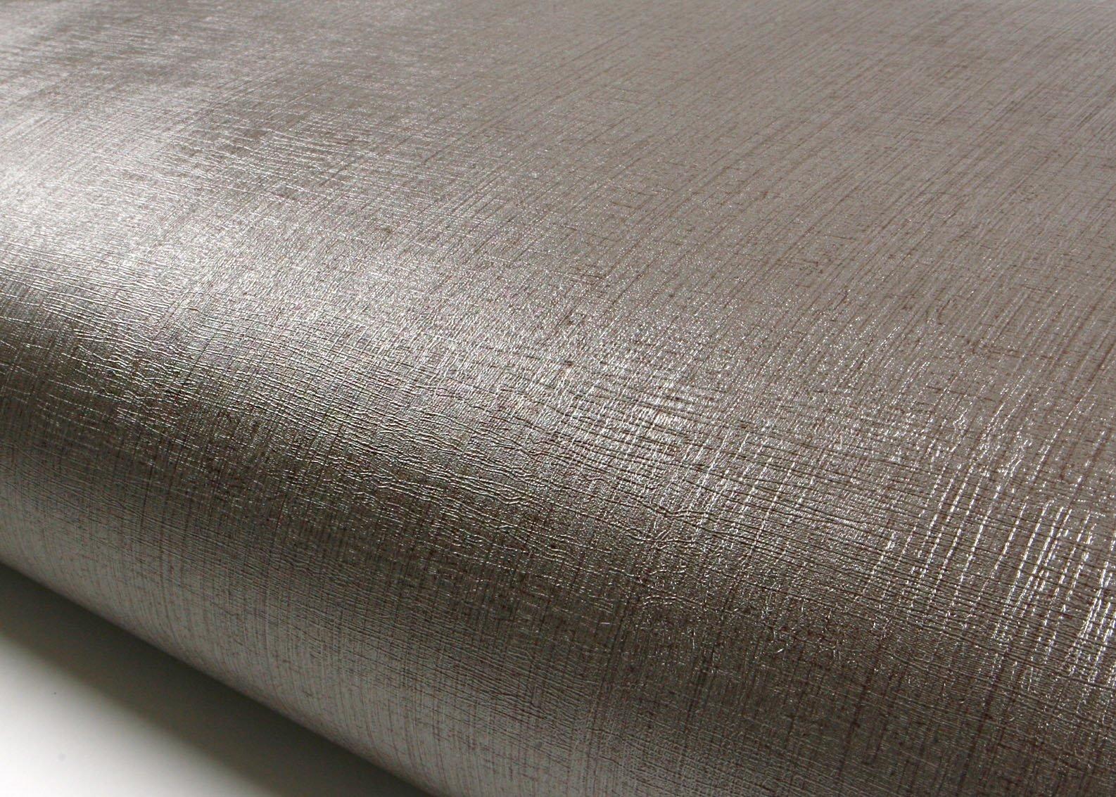 Peel & Stick Backsplash Fiber Ash Silver Purple Pearl Contact Paper Self-Adhesive Removable Wallpaper MG5010-1 : 2.00 Feet X 6.56 Feet