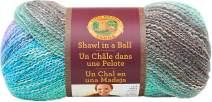 Lion Brand Yarn 828-308 Shawl in a Ball Yarn, One Size, Pastel Pixie