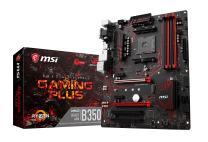 MSI Gaming AMD Ryzen B350 DDR4 VR Ready HDMI USB 3 ATX Motherboard (B350 Gaming Plus)