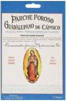 Porous Capsicum External Medicated Plaster by Guadalupano - 4.5 X 7 inches