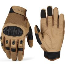 WTACTFUL Tactical Gloves Full Finger Gloves - Airsoft Paintball Military (Touchscreen)