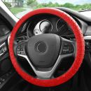 FH Group FH3002RED Red Steering Wheel Cover (Silicone W. Nibs & Pattern Massaging grip Wheel Cover Color-Fit Most Car Truck Suv or Van)