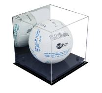 Better Display Cases Acrylic Volleyball Display Case