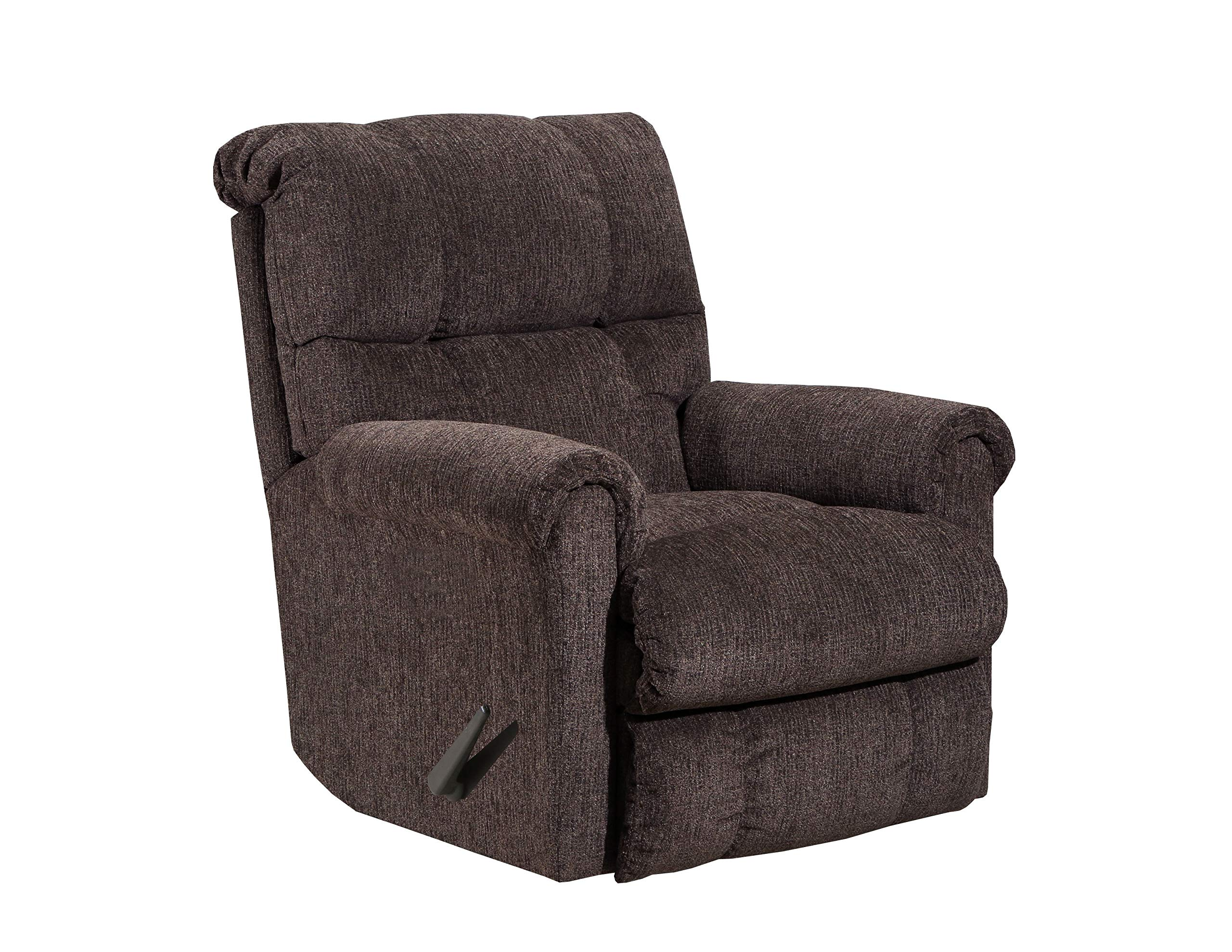 Lane Home Furnishings 4208 18 Crisscross Latte Swivel Rocker Recliner Latte