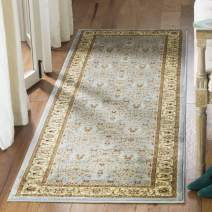 """Safavieh Lyndhurst Collection LNH312B Traditional Oriental Light Blue and Ivory Runner (2'3"""" x 9')"""