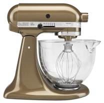 KitchenAid KSM155GBTF KSM155GBSR Stand Mixer, 5 quart, Toffee