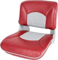 Tempress Profile Guide Boat Seat Red / Gray - Welded