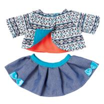 "Manhattan Toy Baby Stella Cozy Chic 15"" Baby Doll Clothing Set"